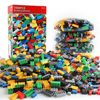 1000 Pieces DIY Building Blocks Bulk Sets City Lego Bricks Toys children Gift