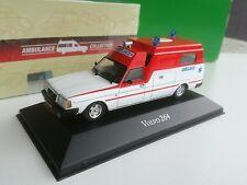 Atlas Volvo 264  Ambulance collection rare