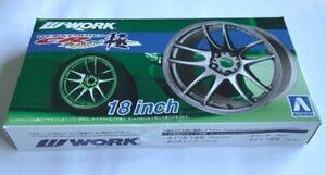 Aoshima Work CR Kai Kiwami - 1/24 1:24 scale model wheels *Box Damage