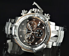 Invicta 50mm Subaqua Poseidon Bolt Chronograph TRITON Guard SS Bracelet Watch