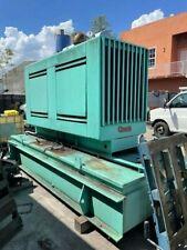 Onan 175 Kw Diesel Generator Set With1443 Hours 750 Gallon Base Fuel Tank