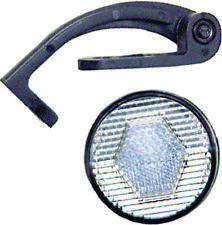Action Front Reflector Round White with Bracket