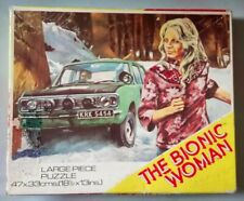 Vtg. (1976) 'Bionic Woman' 224 Lg. Pc. Jigsaw Puzzle - Acc. (Complete) Condition