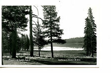 Medicine Lake-Scenic Water View-California-RPPC-Real Photo Vintage Postcard