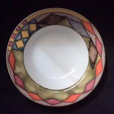 SASAKI PALAZZO~Rimmed Soup Bowl Designed by Paula Zanger