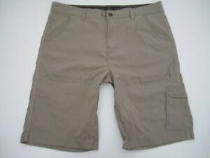 Mens XXL Prana Zion Stretch beige shorts
