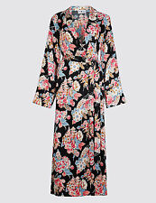 Alexa Chung Archive Marks & Spencer M&S Lady Kimono Gown Dress - Size Small