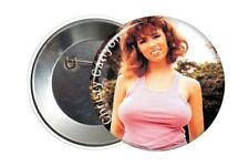Badge Pin Button Christy Canyon Porn Star XXX 38 mm