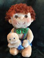 Vintage 1984 Hugga Bunch Doll Hugsy & Tuggins Kenner Red Hair Original Outfit