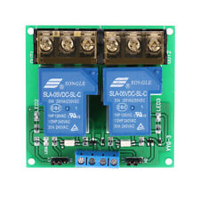 2-Ch DC 5V 30A Relay Board Module Optocoupler Isolation High/Low Trigger T1W2