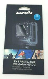 Mizco DigiPower Lens Protector for GoPro HERO 3/4/5/6/7 12-Pack (LP-GPH3) *NEW*