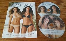 Beach Babe 3 (DVD, 2-Disc Set) Tone It Up Karena & Katerina 8 Workouts exercise