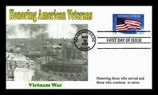 DR JIM STAMPS US HONORING VETERANS VIETNAM WAR FIRST DAY COVER 2001