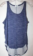 Old Navy Women's Blue Speck Tank---Large