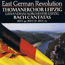 Thomanerchor & gewandhausorch. Leipzig Bach Cantatas bwv44/bwv78/bwv112 champignon