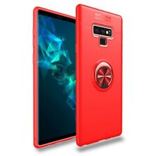 Samsung Galaxy Note 9 New Metal Magnetic Case Cover With Car Ring Holder Buckle