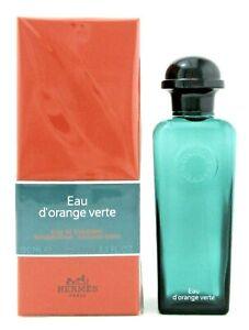 Eau d'Orange Verte by Hermes 3.3 oz Eau de Cologne Spray New in Sealed Box