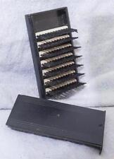 Vintage Plastik Taschen Fusseln Pinsel W / Abdeckung Mv