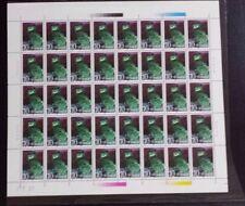 China 1995-5 Owls Bird  猫头鹰.  full sheet of 40 sets