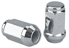 Set of 24 Chrome 14x1.5 Bulge Acorn Closed Ended Lug Nuts 1988-2010