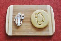 Big Hero 6 Baymax Cookie Cutter Disney Cartoon Biscuit Stamp Cake Topper Fondant
