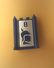 1986 STRATEGO Board Game Part BLUE FLAG Pawn Mover One Single Replacement Piece