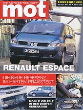Renault Espace 2.2 dCi Sonderdruck mot 10 04 reprint 2004 Auto PKWs Test