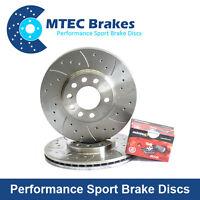 Vauxhall Corsa 1.6 T VXR 04/07- MTEC Front Brake Discs Mintex Brake Pads