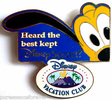 Disney Vacation Club (DVC) Best Kept Secret?: Pluto Pin