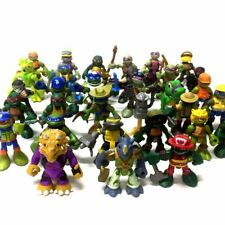 random 5pcs TMNT Half-Shell Hero Teenage Mutant Ninja Turtle figure toy doll