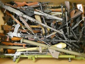 "Huge Lot of Vintage GI JOE Rifles Machine Guns Weapons For 12"" Action Figures"
