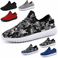 Mens Running Walking Shoes Breathable Casual Fashion Non-slip Tennis Sneakers