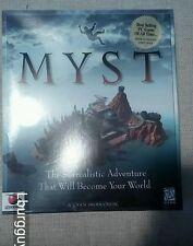 Myst (PC, 1993) Sealed Original Big Box for Windows PC  Brand New