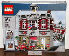 NEW SEALED LEGO 10197 CREATOR CITY FIRE BRIGADE HOUSE CLASSIC BRICK MODULAR
