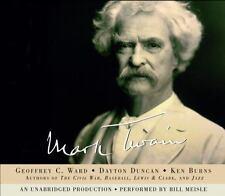 Mark Twain by Ken Burns, Dayton Duncan and Geoffrey C. Ward (2001, CD,...