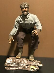 "WOLF MAN Sideshow 12"" figure Universal Monsters Lon Chaney Jr Werewolf 1/6 Scale"