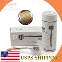 ZGTS Titanium Micro 192 Needle Derma Skin Roller Meso Acne Scar Wrinkle Anti-Age