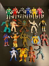1993-1995 Bandai Mighty Morphin Power Rangers Action Figure Lot