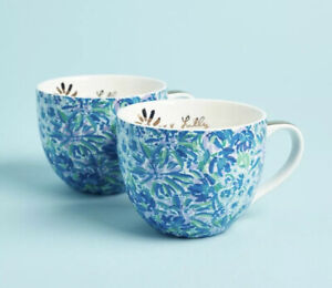 NEW ~ Lilly Pulitzer Coffee Mug ~ Shell Search G54