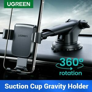 Ugreen Car Phone Holder Gravity Stand Mount Vehicle Suction Cup for iPhone XR 11