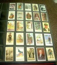 More details for 825 x 1900 - 1939 vintage original cigarette cards in a superb album high grade