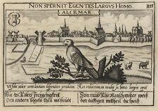 Alkmaar (Niederlande).- Kupferstich/Meisner Schatzkästlein, 1637-1678
