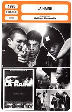 FICHE CINEMA : LA HAINE - Cassel,Magimel,Kassovitz 1995
