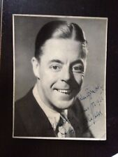 DUGGIE WAKEFIELD - ACTOR & COMEDY STAR - BRILLIANT SIGNED VINTAGE PHOTOGRAPH