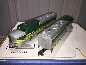 American Flyer S Rocket PA's 474 & 475 1 powered 1 non-powered plus Freight Cars