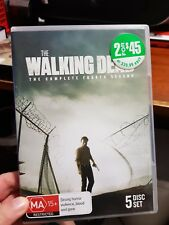 The Walking Dead - The Complete Fourth season -  DVD  - FREE POST