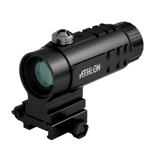 Athlon MAG31 3x Red Dot Magnifier with Flip Mount #403030