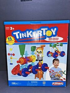 Knex Plastic Tinker Toy Set 150pc In Box Unique And Durable FAST SHIPPING