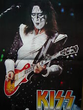 ACE FREHLEY (KISS) - MAGAZINE CENTRESPREAD POSTER (REF R1)