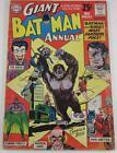 BATMAN ANNUAL #3 DC COMICS SUMMER 1962 JOKER COVER STORY